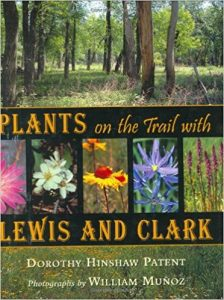 Image of book cover Plants on the Trail with Lewis and Clark