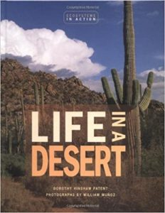 Image of cover for Life in a Desert children's book